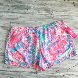 Lilly Pulitzer Ocean Trail Short Viva La Lilly NWT